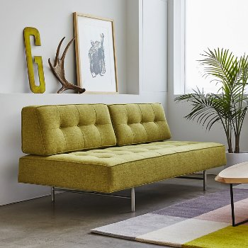 Shown in Bayview Dandelion fabric, in use
