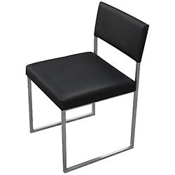 Graph Chair (Coal Vinyl) - OPEN BOX RETURN