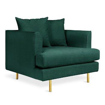 Shown in Velvet Spruce color