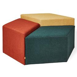 Trillium Pouf Set