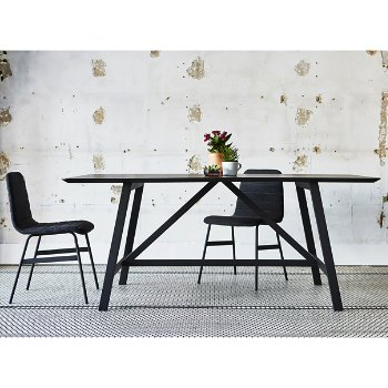 Wychwood Rectangle Dining Table with Lecture Chair