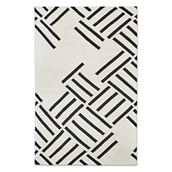 Hatch Rug by Gus Modern (Contrast/4ftx6ft) - OPEN BOX RETURN