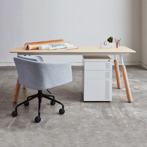 Envoy Desk with Dowel Legs