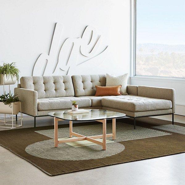 Construct Indoor/Outdoor Reversible Area Rug