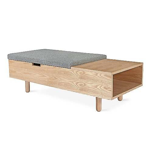Modern Bedroom Benches | Bedroom Storage/Seating Benches at Lumens.com