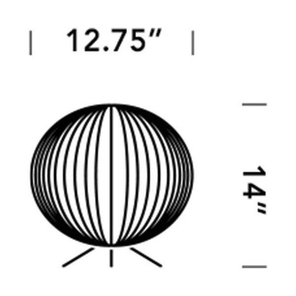 Ball Tripod Table Lamp