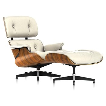 Shown in 2100 Leather Ivory, Santos Palisander finish