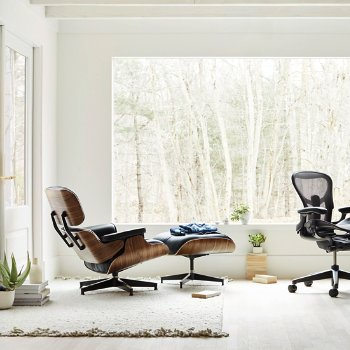 Magnificent Eames Lounge Chair With Ottoman Machost Co Dining Chair Design Ideas Machostcouk