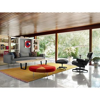 Eames Lounge Chair With Ottoman Ebony By Herman Miller