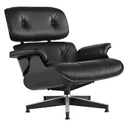 Eames Lounge Chair - Ebony