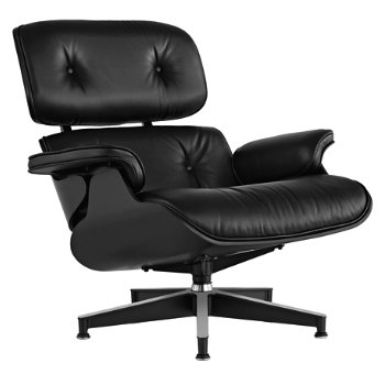 Eames Lounge Chair - Ebony