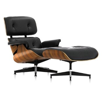 Shown in MCL Leather Black, Santos Palisander finish