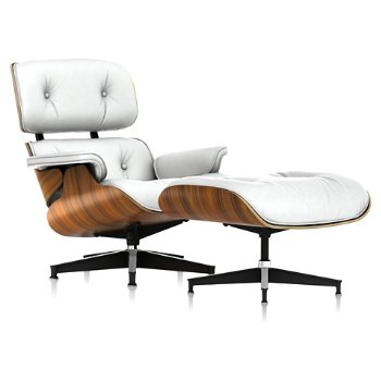 Shown in MCL Leather Pearl, Santos Palisander finish