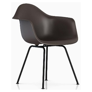 Eames Molded Plastic Armchair Chair - 4-Leg Base