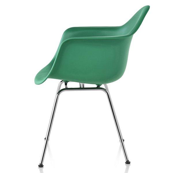 Eames Molded Plastic Armchair Chair - 4-Leg Base