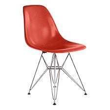 Eames Molded Fiberglass Chair - Wire Base
