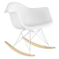 Eames Molded Plastic Armchair - Rocker Base