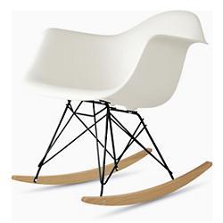 Eames Molded Plastic Armchair - Rocker Base