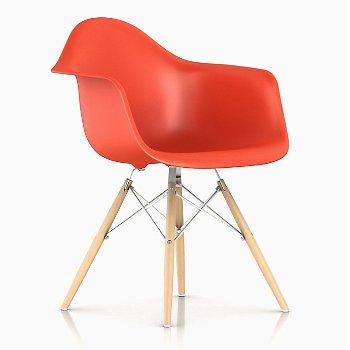Shown in Red Orange, Trivalent Chrome/White Ash finish