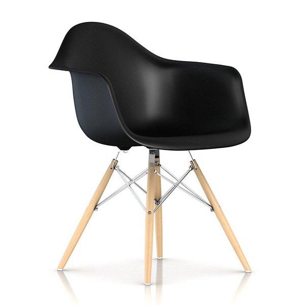 Eames Molded Plastic Armchair - Dowel Base