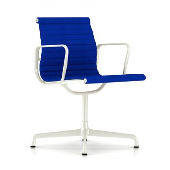Shown in Ultramarine fabric with White Base finish with Arms