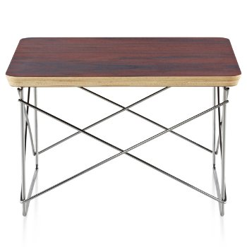Shown in Walnut finish with Trivalent Chrome Base finish