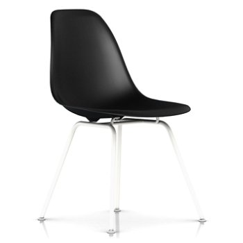 Shown in Black with White Base finish