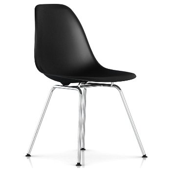 Shown in Black with Trivalent Chrome Base finish