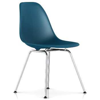 Shown in Peacock Blue with Trivalent Chrome Base finish