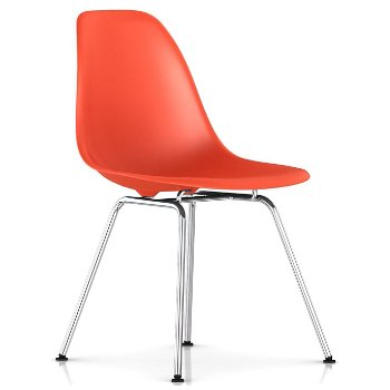 Shown in Red Orange with Trivalent Chrome Base finish