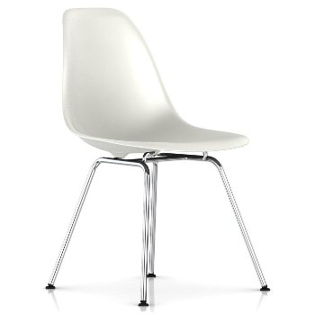 Shown in White with Trivalent Chrome Base finish