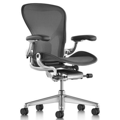 Aeron Office Chair   Size Cand Graphite By Herman Miller At Lumens.com