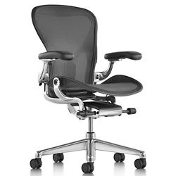Aeron Size C Office Chair, Graphite