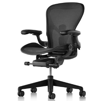 Shown in Graphite/Graphite finish with Adjustable Posture Fit SL