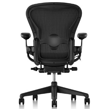Shown in Graphite/Graphite finish with Adjustable Lumbar Support