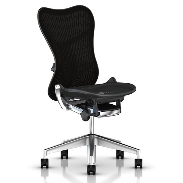 Mirra 2 Office Chair, Armless with Lumbar Support