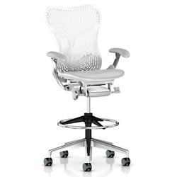 Mirra 2 Office Stool Triflex Back with Fixed Arms
