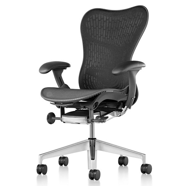 Mirra 2 Office Chair Triflex Back with Adjustable Arms-Lumbar Support