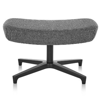 Shown in Noble Heathered Grey fabric with Black base