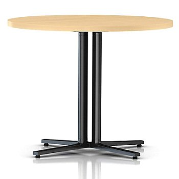 Shown in Natural Maple, black base finish, 36 Inch
