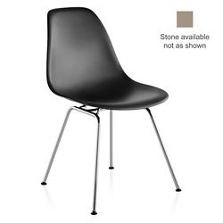 Eames Molded Chair - Wire Base (Stone/4/Ch/Std Gl)-OPEN BOX