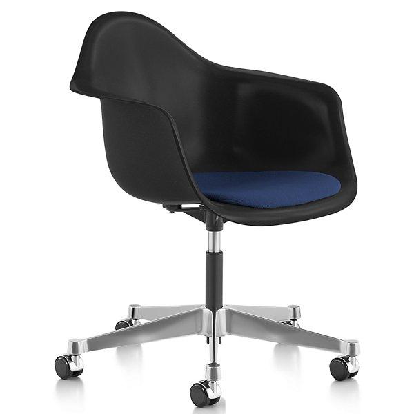 Eames Molded Fiberglass Task Armchair, Eames Side Chair Pad