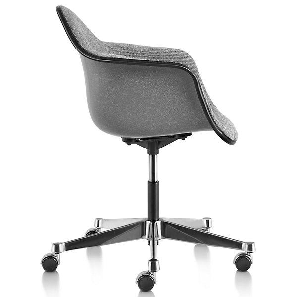 Eames Molded Fiberglass Task Armchair Fully Upholstered