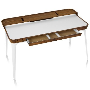 Airia Desk, Open Drawer