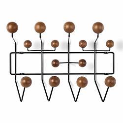 Eames Hang-It-All (Walnut/Black) - OPEN BOX RETURN
