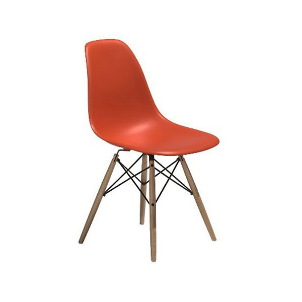 Eames Molded Plastic Side Chair With
