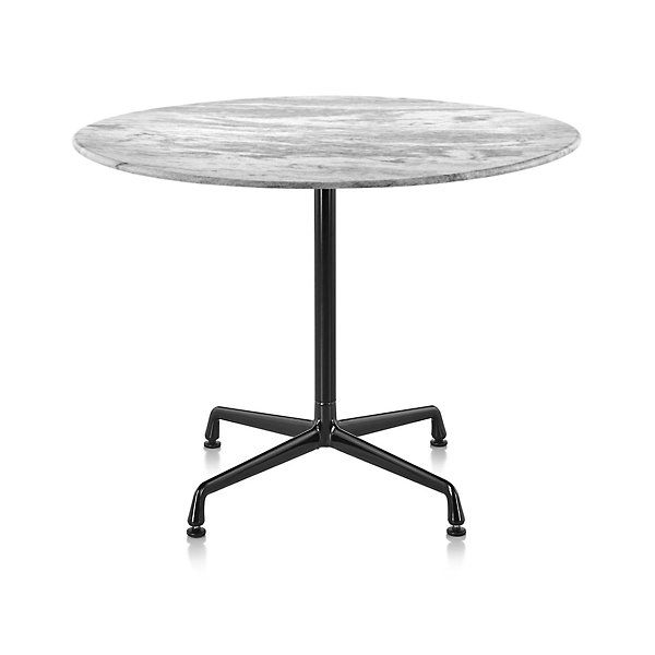 Eames Round Dining Tables With, Herman Miller Eames Coffee Table Round