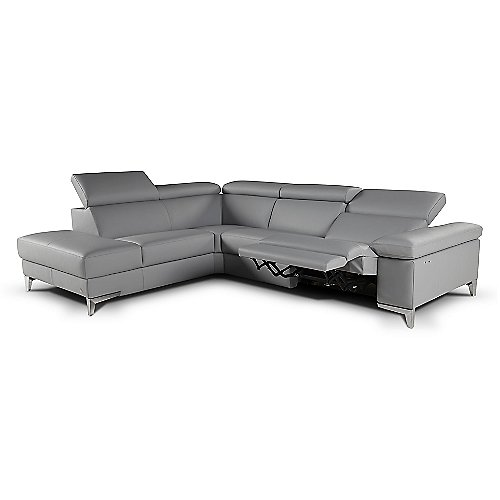 Megan Sectional Sofa With Electric Recliner By Giuseppe And At Lumens
