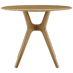 "Sitka 36"" Round Dining Table, Caramelized"