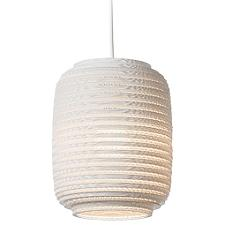 Ausi White Scraplight Pendant Light